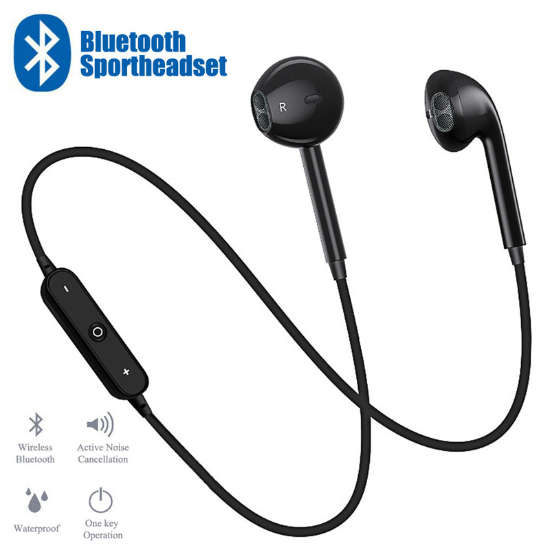 S6 Sport Earphone Neckband Wireless Headphone Music Earbuds Bluetooth Headset Handsfree For Iphone Xiaomi Huawei Buy At The Price Of 1 40 In Alibaba Com Imall Com