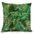 New design custom tropic leaf boho digital printed office home decorative cotton linen pillow cover