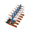 Good quality cable reel racks stacking fabric roll racks storage shelf