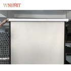 100 inch 4:3 Pull down Manual Wall Mounted Projection Screen for Home Cinema