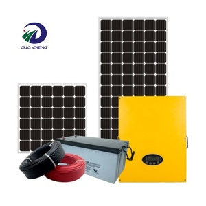 Factory direct sale and hot sale kit 350w 24v 4kw solar power system for off grid system
