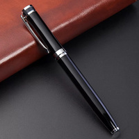 premium business office gift high quality luxury metal roller ball pen with custom logo