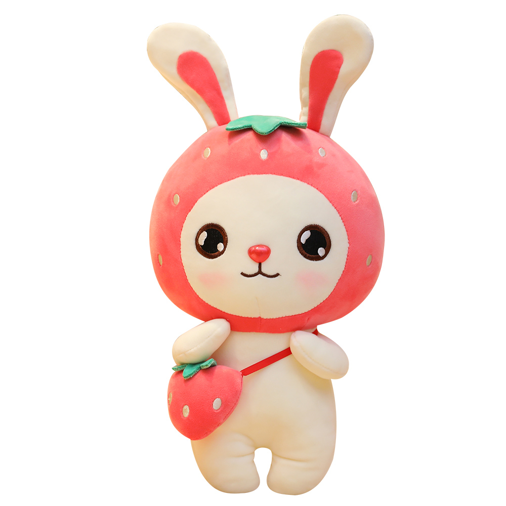 stuffed fruit style <strong>rabbit</strong> plush toys, orange watermelon strawberry and pineapple shaped <strong>rabbit</strong> dolls