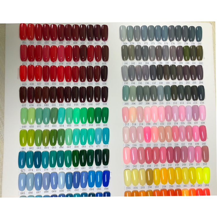 Color Gel for Nails Beauty Girls Long Lasting
