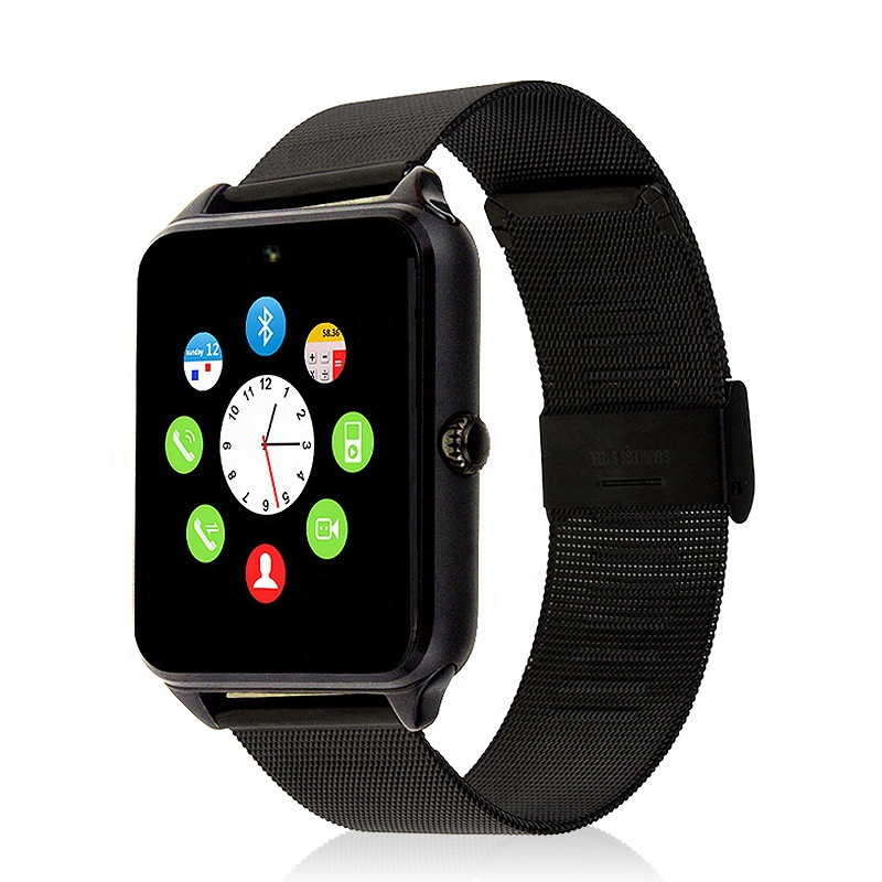 2019 Wholesale smart watch z60 with metal wristband z60 smart watch for Men support Android and IOS From Vidhon фото