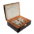 Luxury Custom Packaging Wooden Perfume Box With High Gross Lacquer