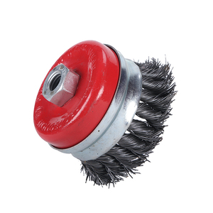 Pegatec Twisted Knot Cup Steel Brushes Wire Brush