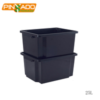 New Product Multi Purpose Top Quality Waterproof 25L Plastic Containers Storage