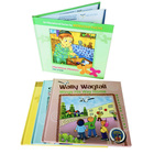 Customized hardcover lamination Music education child book printing