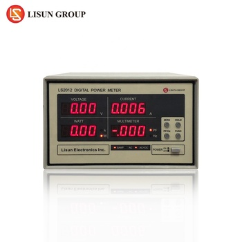 Lisun LS2012 AC Power Meter with USB Can Measure Vrms, lrms, W, PF/Hz