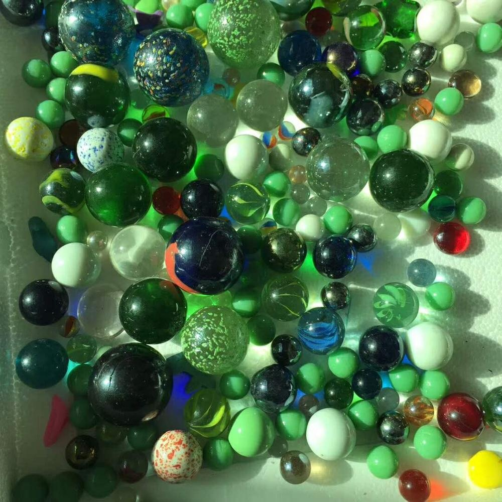 25mm 19mm 16mm toy glass solid colored or clear glass ball for sale