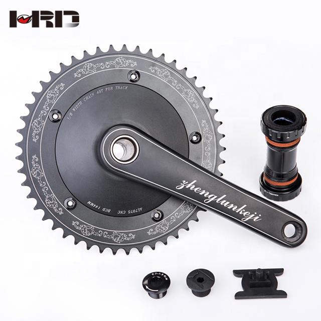 Alibaba.com / Big Sale High quality bike parts cheaper AZ20-AS800 fixed gear bike crankset 47/48/49/50/52T bike crank set