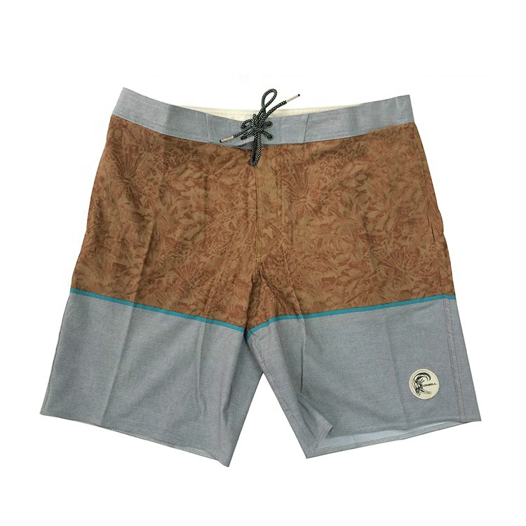 Speciale hot selling custom sneldrogend katoen polyester elastan beach shorts voor jongens