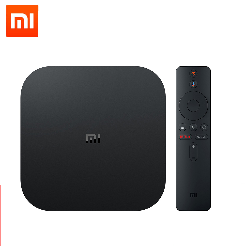 Xiaomi Mi Box S Global International Android Smart TV Box Streaming Media Player