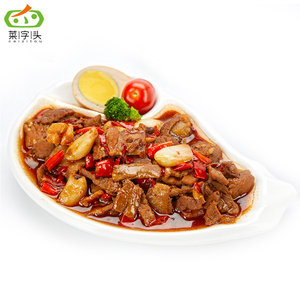 sichuan instant food and Chinese food for ready to eat at Sauteed Pork Slices