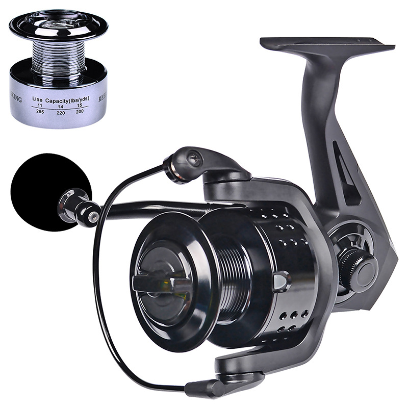 Drag 46LB New Fishing Coil EVA Handshake 13+1BB Spinning Fishing Reel Professional Metal Left/Right Hand Fishing Reel Wheels