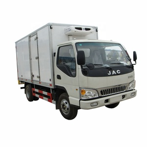 JAC 4x2 mini 3 tons 4 tons refrigerated truck 5 tons Refrigerator truck for sale