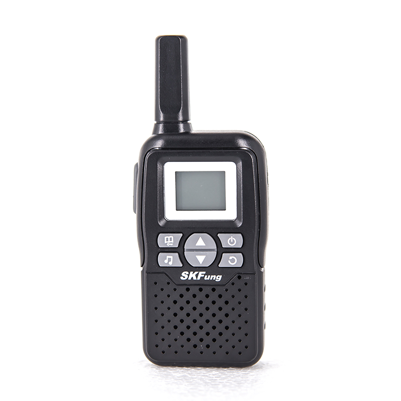 SKFung 22 scaning canal Canal Display LCD Auto Power off Automático Hands-free 10 KM Intervalo Ideal Mini Walkie talkies