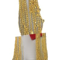 xuping dubai gold jewellery designs 24k chain gold necklace for women, dubai new gold chains design