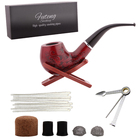 Zhejiang FuTeng Nice Quality wood Smoking Pipe Set Best selling Pipe Tobacco Cheap Smoking Pipes for Sale