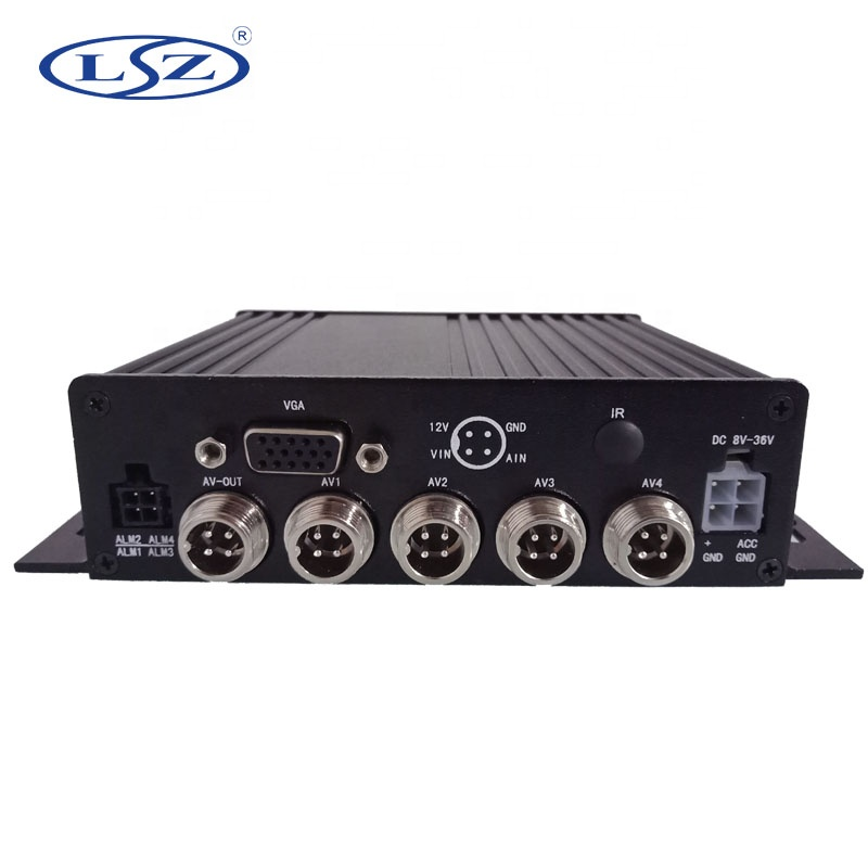 NEW mdvr 1080p ahd <strong>4</strong> channels input mobile dvr for vehicles recording