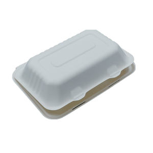 Biodegradable Tableware Lunch Box Takeaway Food Container 9 inch