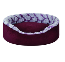 Hot selling suede bed voor <span class=keywords><strong>huisdier</strong></span> luxe en warm pet dog bed