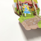 High quality Custom Paper Board story Interesting 3D Children Pop-up softcover Book Printing