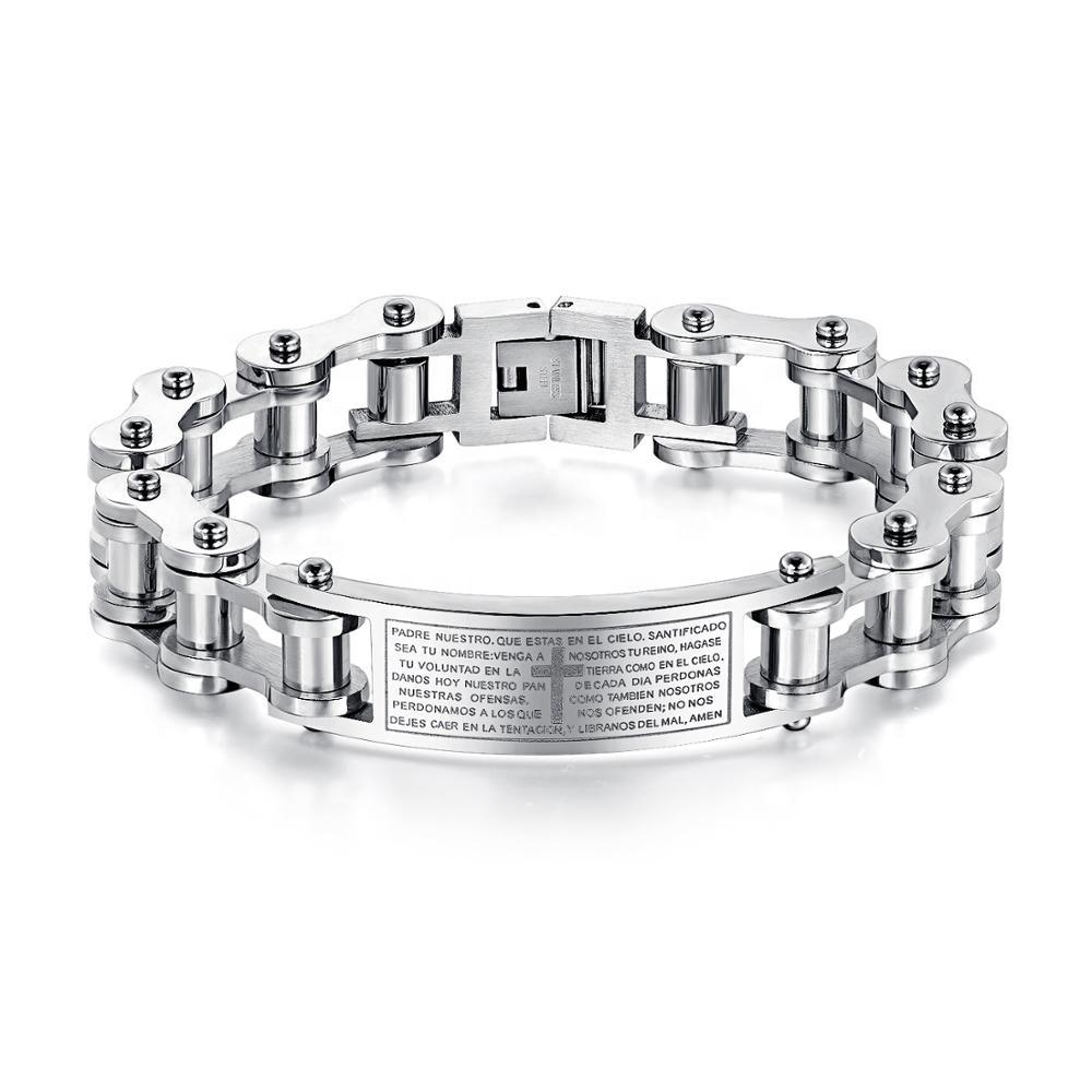 f93a36207fd2 Venta al por mayor pulseras cristiana brazalete-Compre online los ...
