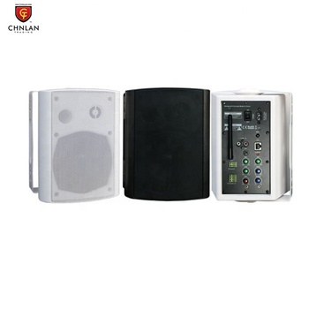 CHNLAN WS67  Pair  2x25w 5 inch Coaxial Wireless Powered IP POE Smart WIFI Wall Speaker