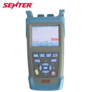 SENTER Best selling ST3200 fiber optic otdr meter 28/26dB touch screen LCD display OTDR 1310/1550/1625 con filtro para