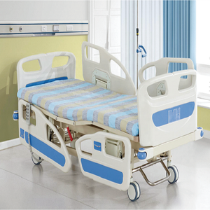 Comfortable Medical Hospital Equipment Five Functions Manual Bed