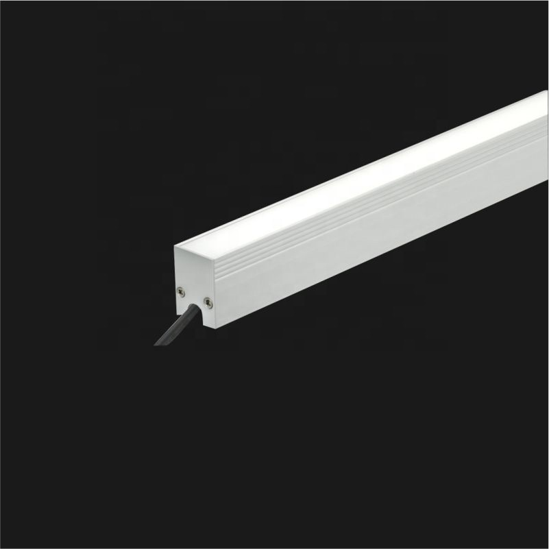 manufacture new design recessed mounted IP67 water proof aluminum indoor outdoor led linear light lighting
