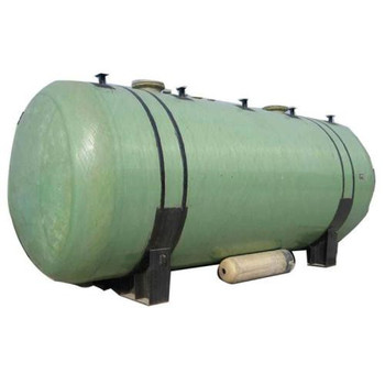 GFRP horizontal storage tank, GFRP water oil storage container