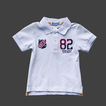 f3fa0fea Bebé moda Polo camiseta niños tops ropa de niño hacer al por mayor ropa de  niños