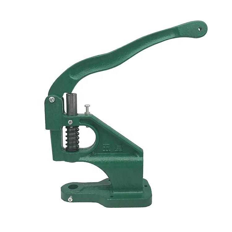 Guanfeng mejor precio cortina anillo ojal botón remache pequeña punzonadora Manual prensa ojal máquina