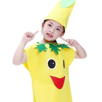 Chinese cheap kids fruit fancy dress cosplay costumes