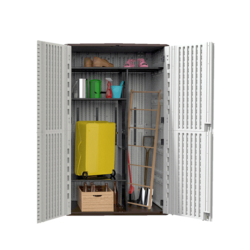 HDPE Plastic Cheap Waterproof Outdoor Storage Garden <strong>Cabinet</strong>