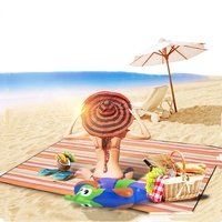 Waterproof folding picnic blanket beach camping mat