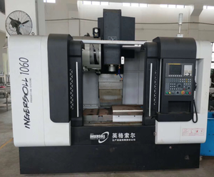 90% new second hand used cnc vmc 1060 fanuc system vertical milling machine machining center