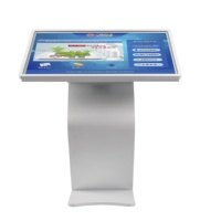 43 49 55 65 inch hotel lobby interactive digital signage Information query all in one pc horizontal multi touch screen kiosk