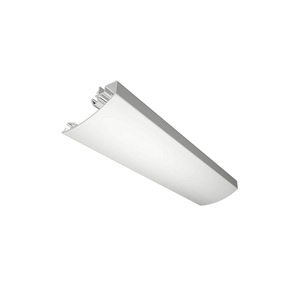 Alloy aluminum T5-6063 and frosted pc cover/led linear ceiling light housing/linear lamp profile