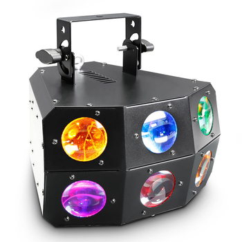 100W RGBW Derby Matrix Beam Wedding Stage Light