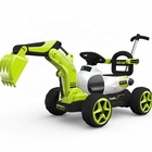Best gifts kids wholesale fashion electric car baby car toy child ride on car excavator toy