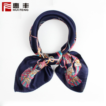 New Arrival Silk Painting Scarf Designs ,Luxury Silk Scarf Bound