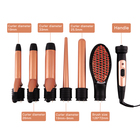 multi-function private label hair curler set 5 in 1 curling iron