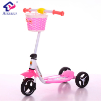 wholesale kids toys 3 wheel scooter /factory smart scooter for children 2---8 years old /new model child scooter