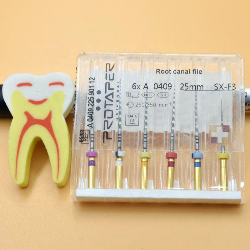 Dental rotary super files protaper universal needle accessories endodontic files for Root canal cleaning фото