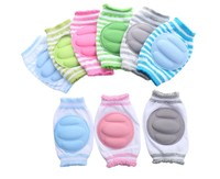 best selling baby product 2018 toddlers crawling anti-slip washable adjustable breathable baby knee pads unisex gift for kids