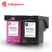 Colorpro 652 xl use for DeskJet 1115 2315 3635 compatible for hp 652 ink cartridge
